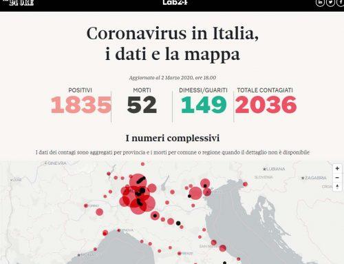 COVID19 Mappatura Italia